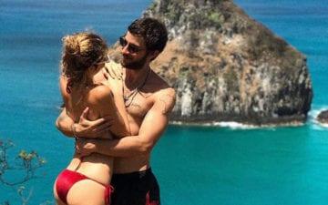 Chay Suede marca nova data do casamento com Laura Neiva