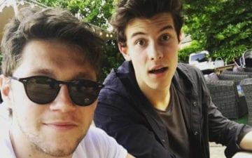 Niall Horan e Shawn Mendes