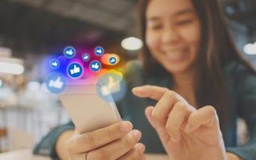 pressão das redes sociais