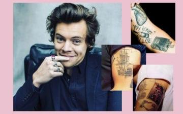 tatuagens do harry styles