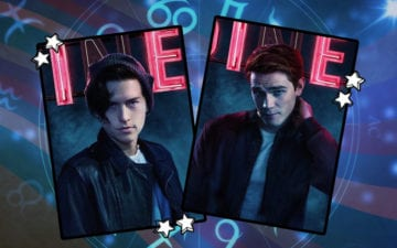 signo dos personagens de Riverdale