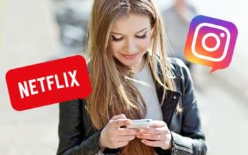 Já dá pra compartilhar nos Stories o que você vê na Netflix