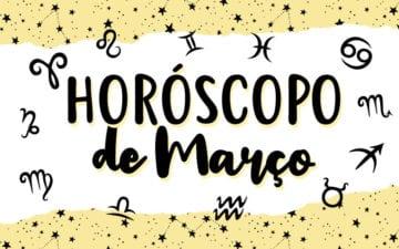 horoscopo de março