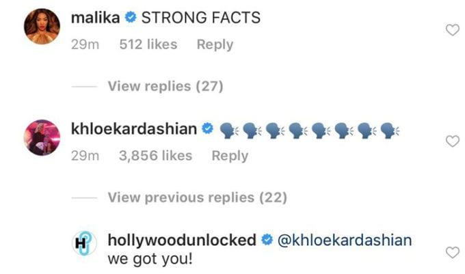 khloe Kardashian e Jordyn Woods