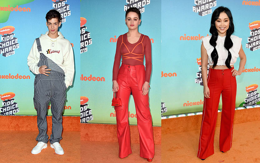 looks do Kid's Choice Awards 2019