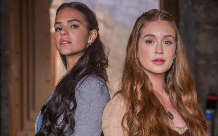 Marina e Bruna Marquezine