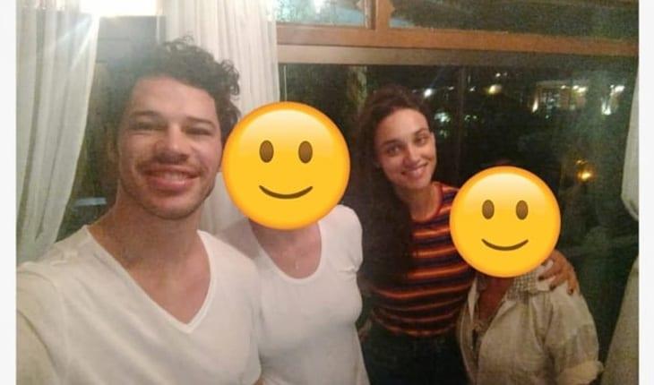 osé Loreto e Débora Nascimento voltaram