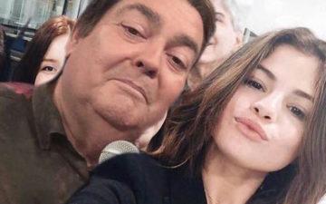 Selena Gomez e Fausto Silva