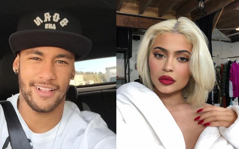 Neymar e Kylie Jenner