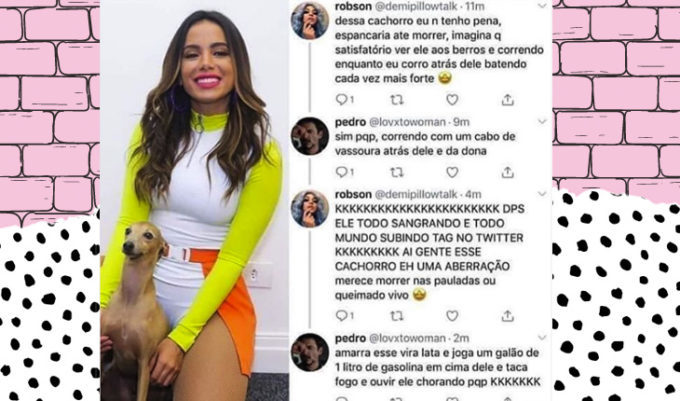 cachorro da Anitta morreu