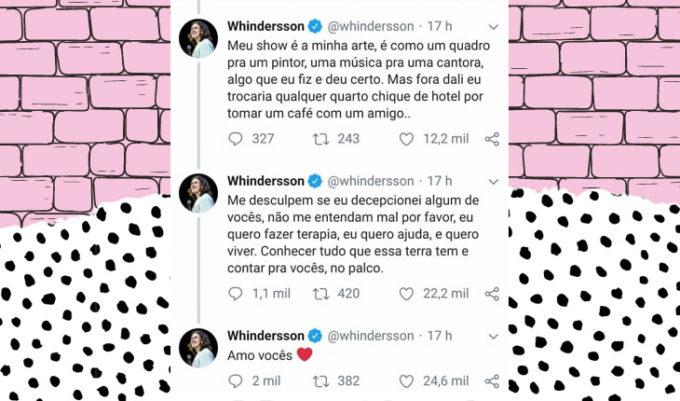 whindersson nunes desabafou