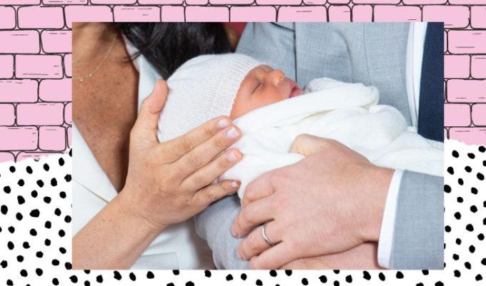 bebê de Harry e Meghan