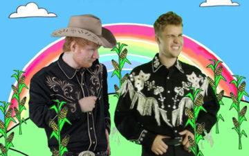clipe de Justin Bieber e Ed Sheeran
