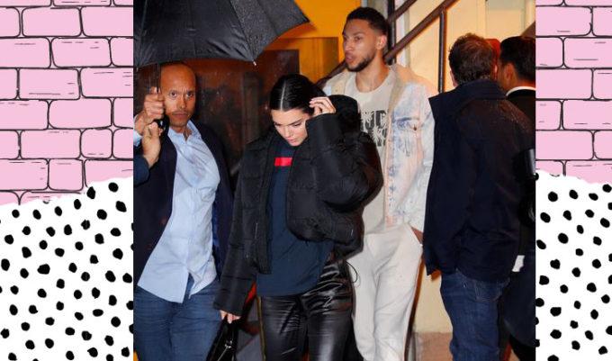 Kendall Jenner e Ben Simmons