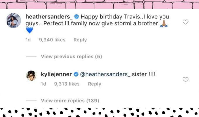 kylie jenner quer um segundo filho