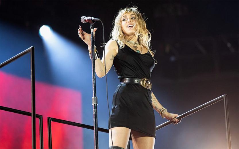 nova música de Miley Cyrus