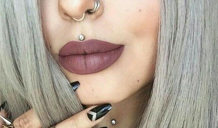 Piercing na boca