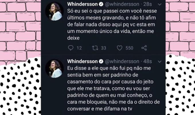 briga de Carlinhos Maia e Whindersson Nunes