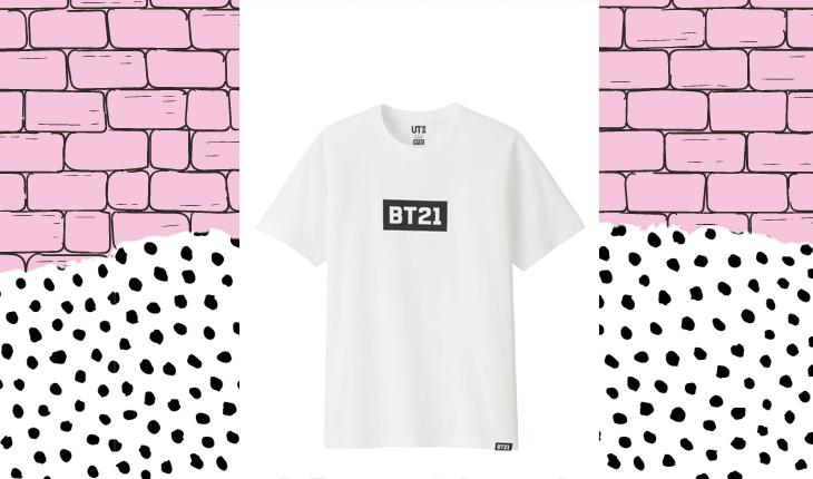 coleção de roupa do BTS