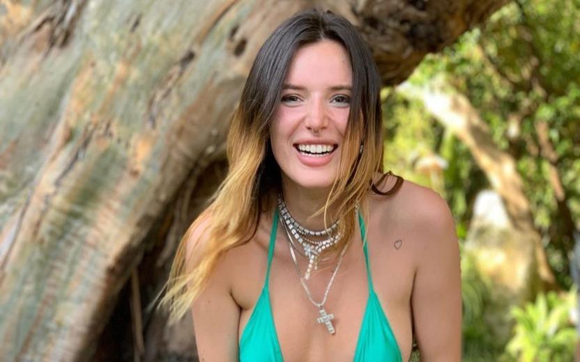 Bella Thorne publica nudes