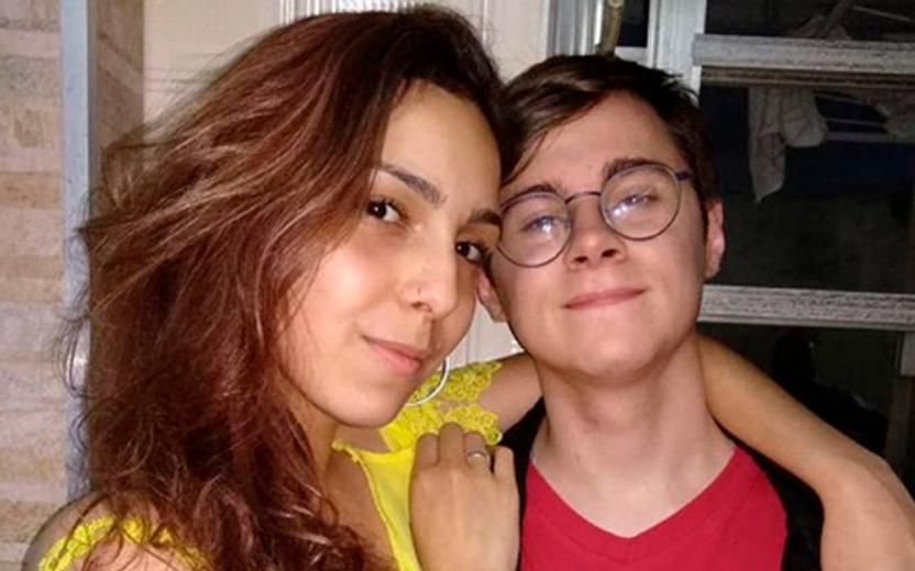 namorada de Rafael Miguel