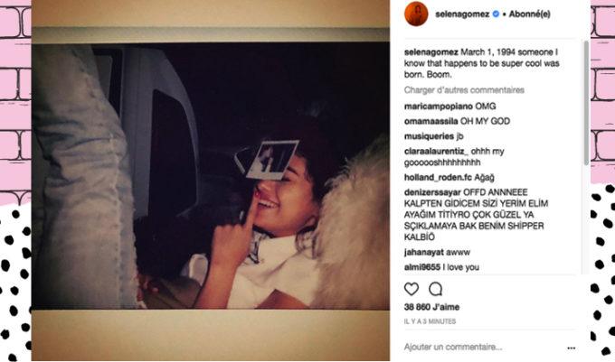 instagram da Selena Gomez
