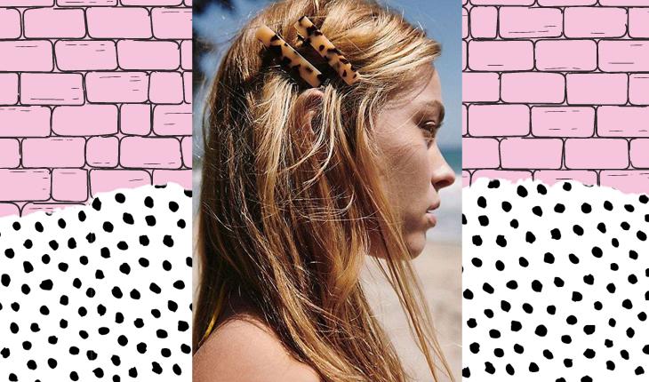 presilhas de cabelo