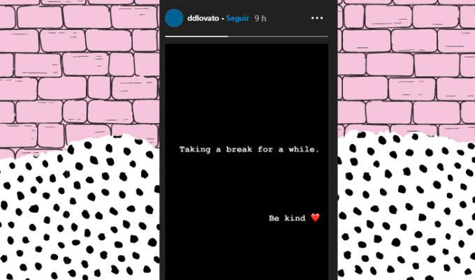 redes sociais da Demi Lovato