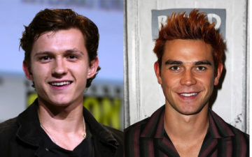 Kj Apa e Tom Holland