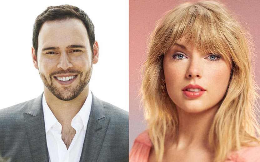 Scooter Braun e Taylor