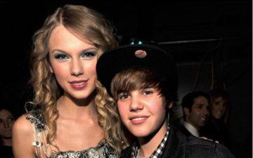 Taylor Swift e Justin Bieber