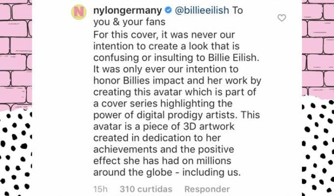 instagram de billie eilish