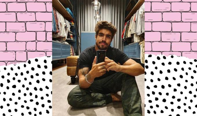 instagram de caio castro