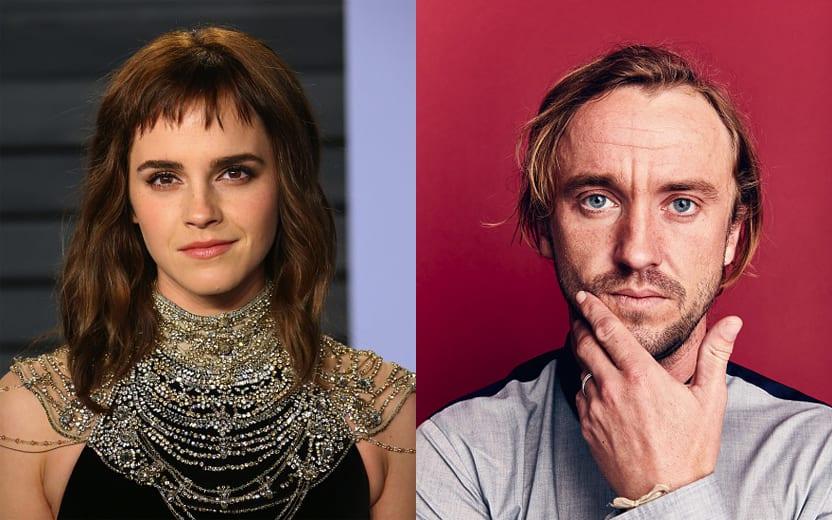 Emma Watson e Tom Felton