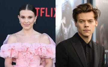 Harry Styles e Millie Bobby Brown