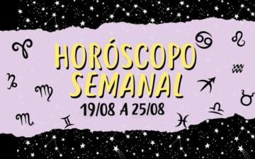 horóscopo semanal de 19 a 25 de agosto