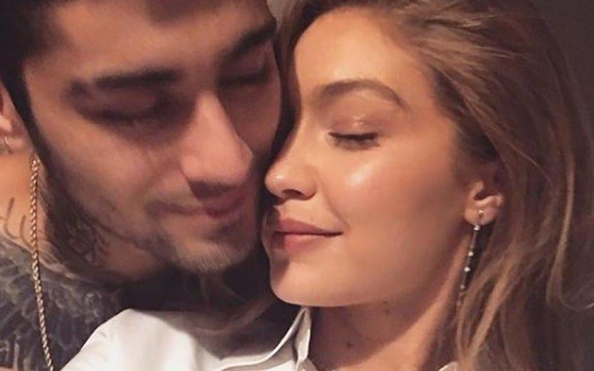 Gigi Hadid é processada depois de publicar foto do ex, Zayn Malik