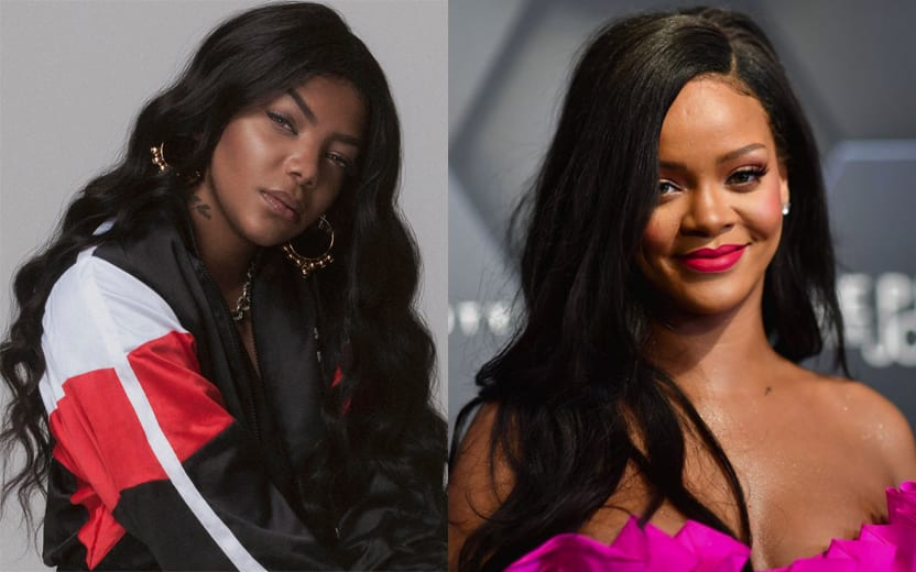 desfile da Rihanna