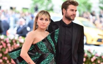 Liam Hemsworth soube que seu casamento com Miley chegou ao fim pelas redes sociais