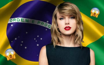 Taylor Swift vem ao Brasil