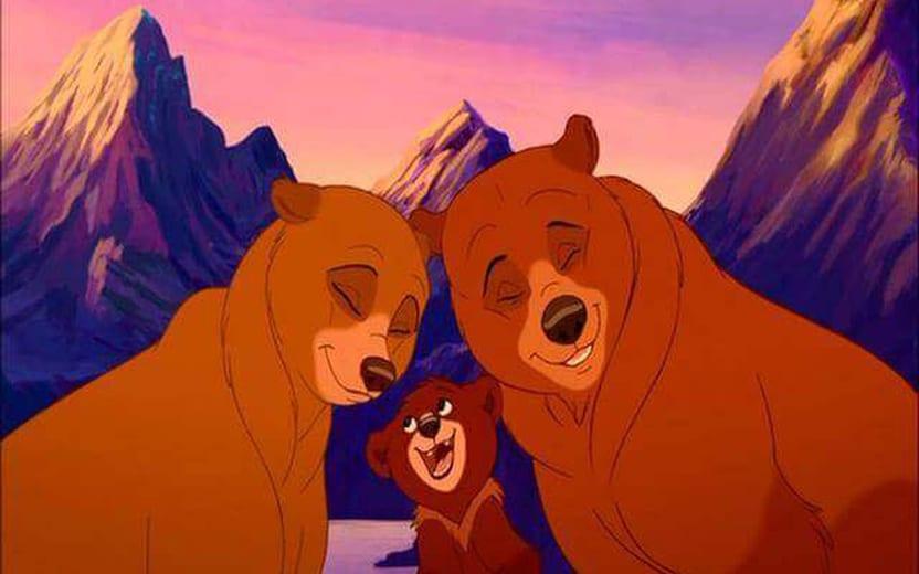 Resultado de imagem para Disney trabalha em live-action de Irmão Urso