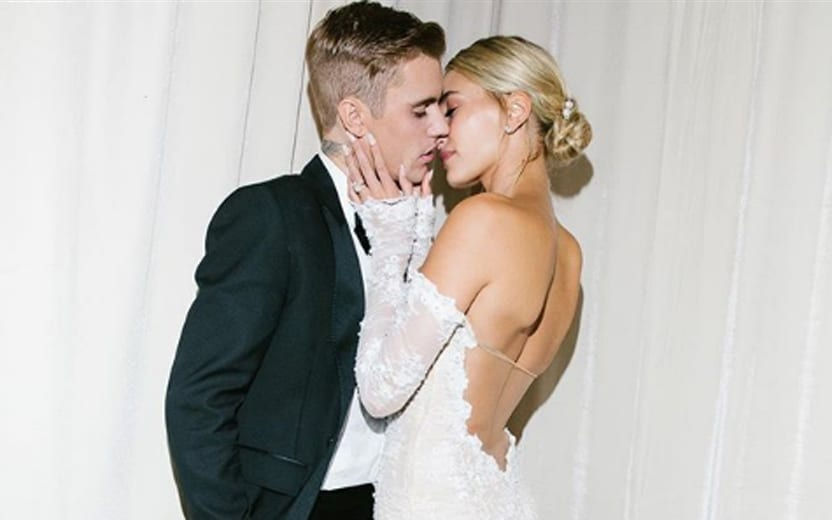 vestido da Hailey Bieber