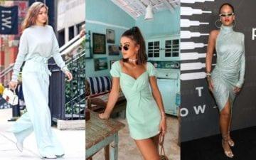 Neo mint é a nova tendência para arrasar nos looks