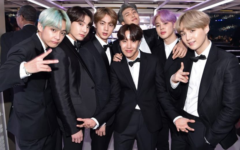 integrantes do BTS