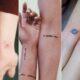 10 tatuagens mega fofas para fazer junto com a melhor amiga