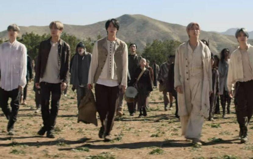 """BTS faz referência a Maze Runner e outras obras do cinema em novo clipe de """"ON"""""""