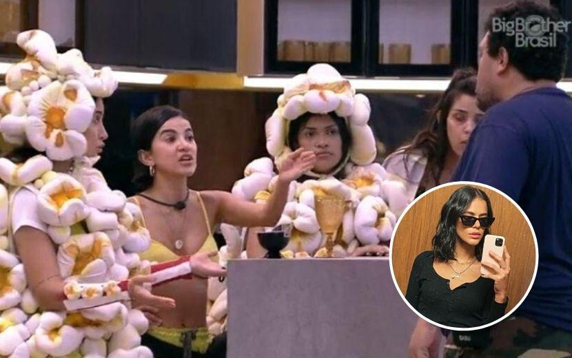 BBB 20: Babu dá show de machismo e leva pisão de Bruna Marquezine