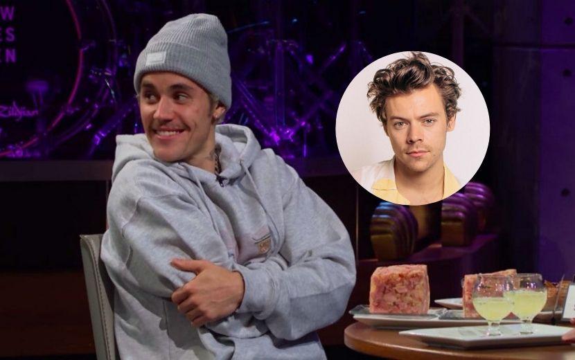 Justin Bieber questiona talento de Harry Styles ao vivo e o chá foi de climão!