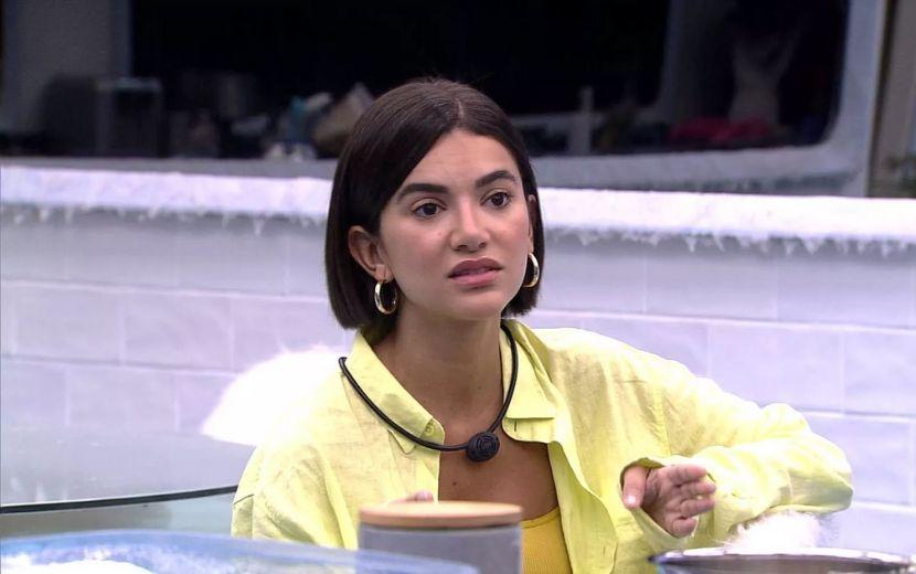 """BBB20: Manu se questiona sobre relação com Flayslane e Mari: """"Como ser correta com elas?"""""""