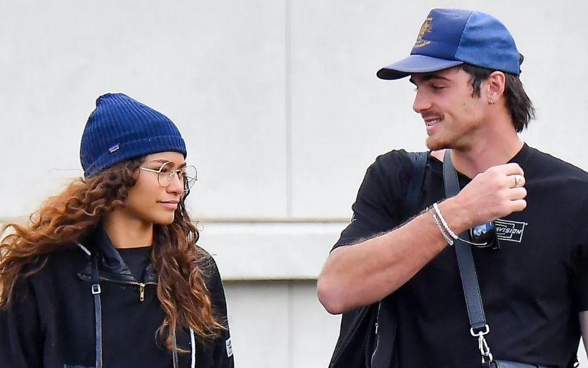 Zendaya e Jacob Elordi com looks combinando é a nossa nova meta de relacionamento!